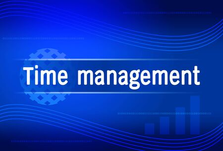 business background Time management Stock Photo - 14149892