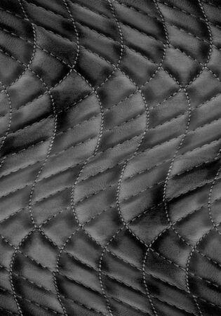 black leather background Stock Photo - 14941948