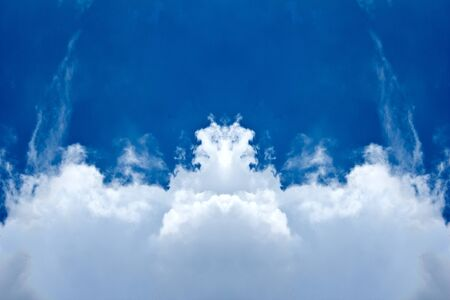 abstract beautiful  cloud Stock Photo - 15061771
