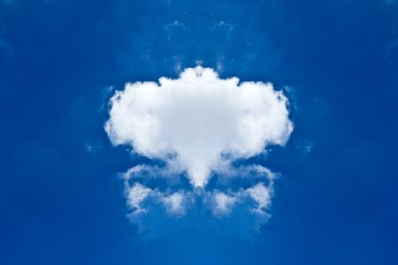 beautiful single cloud Stock Photo - 15061769