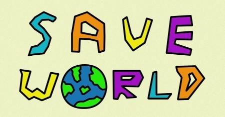 save world Stock Photo - 17209433