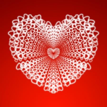 heart illustration Stock Illustration - 17455453