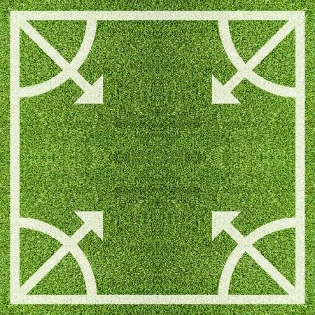 Artificial Grass Field Texture photo