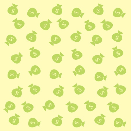 money bag background Vector