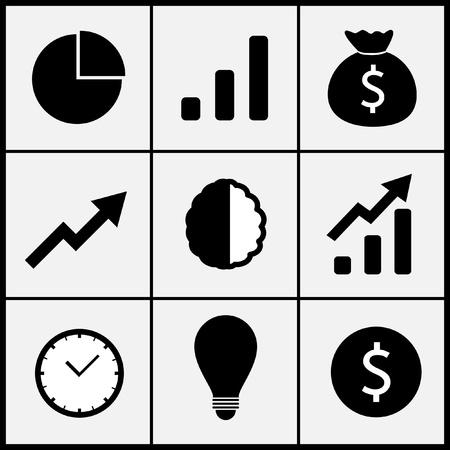 set of think icon