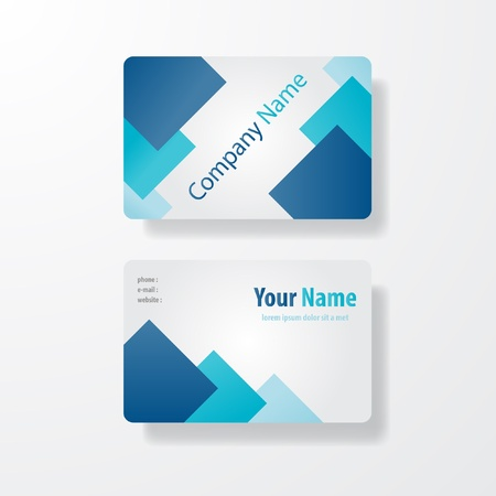 bussiness: business card design front and black vector