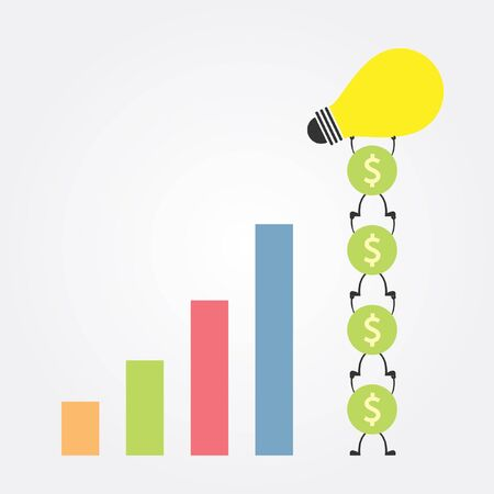 good idea for good money Illustration