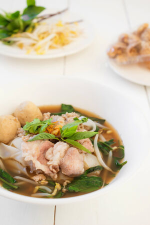 thicken: thai style pork noodle soup