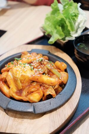 ki: korean spicy tok bok ki