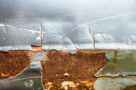Corroded surfaces that rust