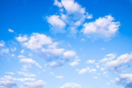 Blue sky and beautiful clouds