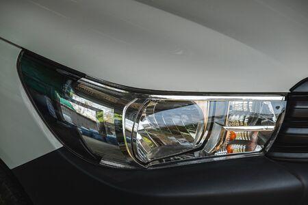 Car front light Imagens
