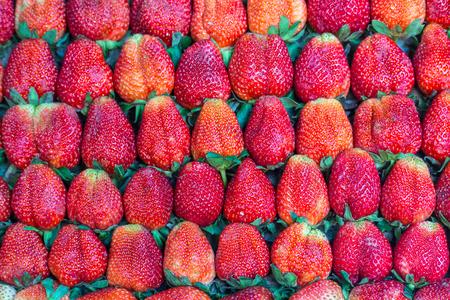 to arrange: Fresh many strawberry Beautifully arrange