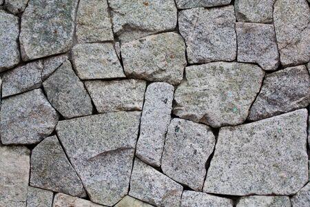 rock wall at home
