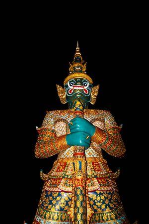 statue at minisiam Thailand Stock Photo