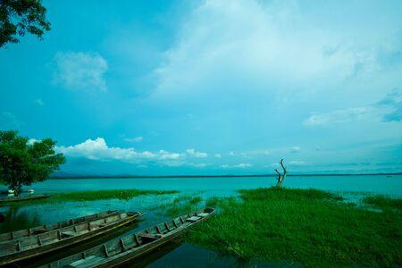 fishing boat of fisherman