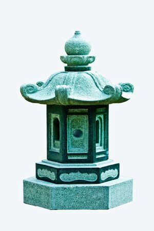 lamp made of stone: lamp