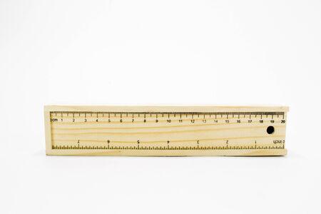 wooben ruler Stock Photo