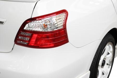 Tail light Car close up photo
