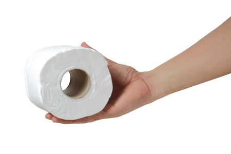 Toilet paper Stock Photo - 13974673