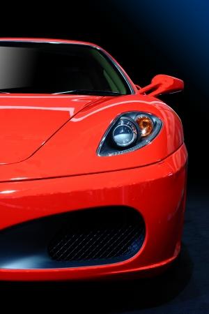 silhouette voiture: Voiture de sport