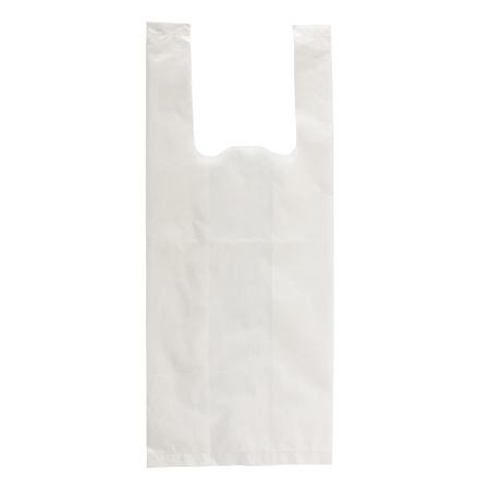 La bolsa de plástico aislado en el fondo blanco Foto de archivo - 20322680