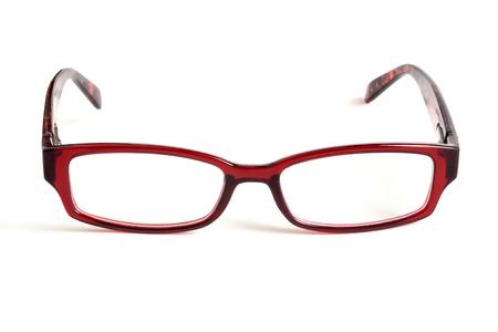 Gafas de ojos aislados en blanco Foto de archivo - 30542902