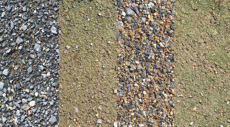 Consecutive soil layer Banco de Imagens