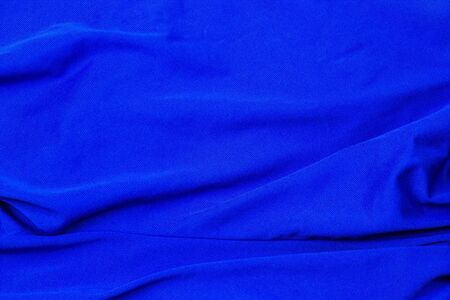Blank blue cloth with stripes background