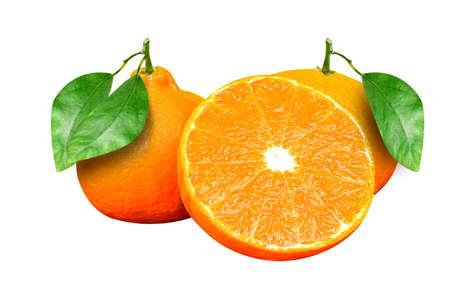 Orange, natural, photo, studio White background
