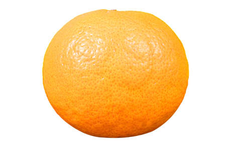 Orange, natural, photo, studio White background