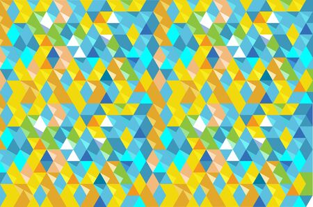two dimensional shape: abstract  background with triangle grid