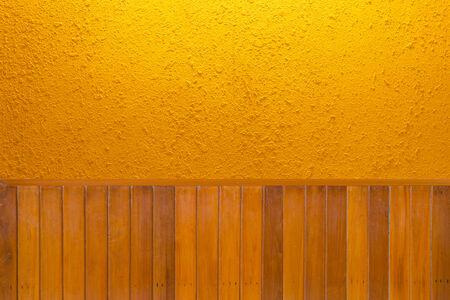 textura: Suelos de madera y la textura del muro de cemento Foto de archivo