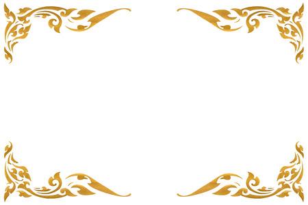 Template gold Design