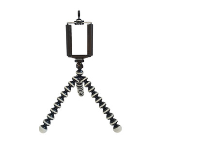 isoleted: Tripod isoleted on white background