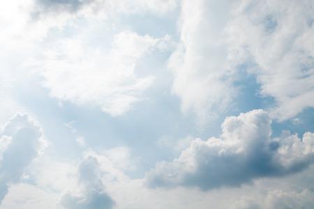 cloud drift: blue sky with cloud.