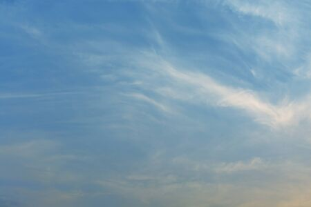 cloud drift: Blue sky background.