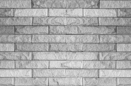 rou: Old White Grunge Bricks Wall Pattern.