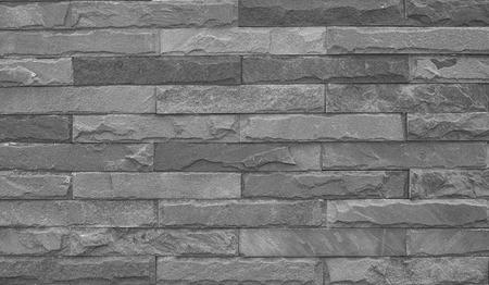 rou: Old Black Grunge Bricks Wall Pattern.