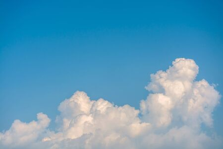 cloud drift: blue sky with cloud