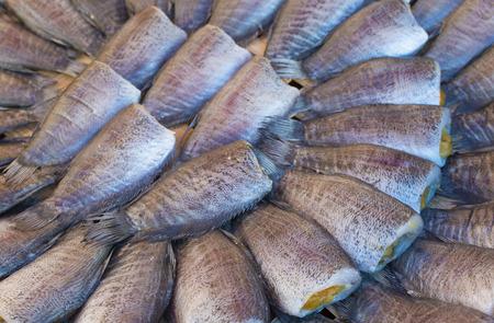 pectoralis: Fish preservation. Trichogaster pectoralis local delicacy in Thailand