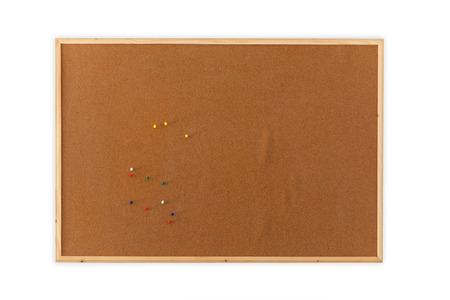 pin board: Blank Cork board with pin