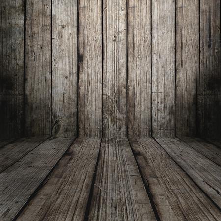 on wood floor: wood floor old Stock Photo
