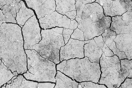 sequias: la sequía del suelo agrietado textura