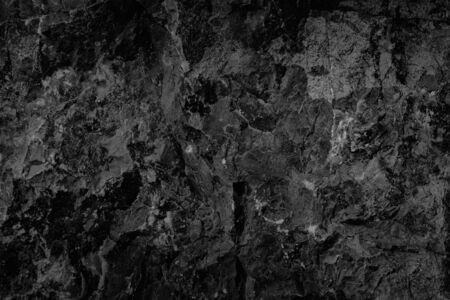 Black stone background grunge textured high quality closeup. May be used for design as background. Copy space
