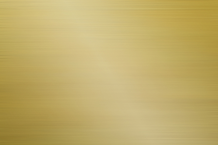 aluminum brushed gold background Stock Photo