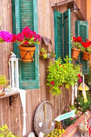 Close up of a traditional mediterranean house Banco de Imagens - 30440501