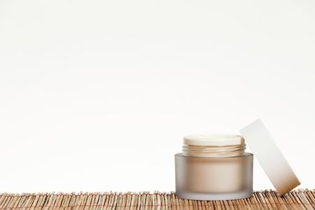 Skincare cream isolated on white background. Standard-Bild