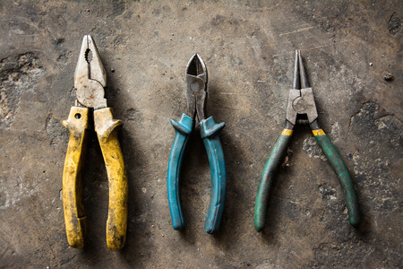 Pliers Thee Need of a Mechanic. Stock Photo - 74374172