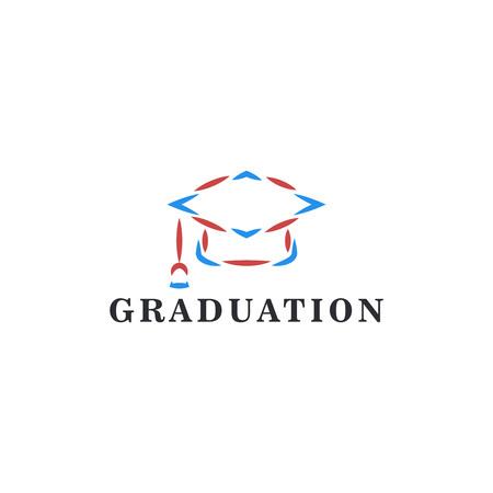 Graduation Vector logo template